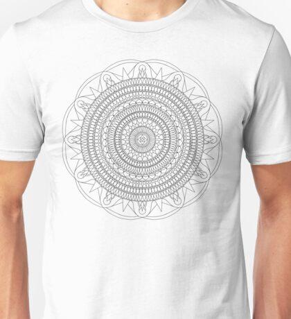 Tut Mandala - Color Your Own T-Shirt Unisex T-Shirt