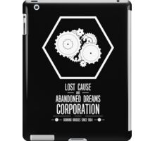 Lost Cause and Abandoned Dreams Corporation iPad Case/Skin