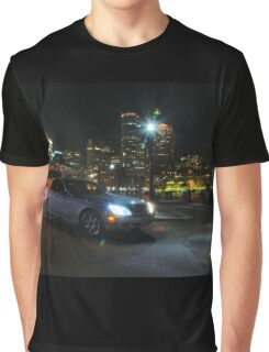 Night Out In Boston Graphic T-Shirt