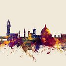 Florence Italy Skyline by Michael Tompsett