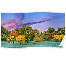 Autumn colours-4 Poster