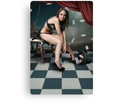 Queen of Lethargy Canvas Print