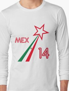 MEXICO STAR  Long Sleeve T-Shirt