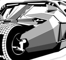 Batmobile Sticker