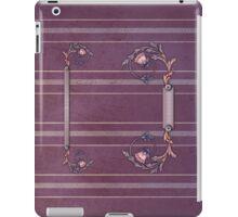 Purplish-Red Upholstery  iPad iPad Case/Skin