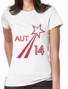 AUSTRIA STAR Womens Fitted T-Shirt