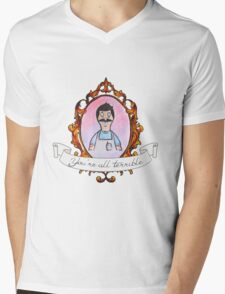 Bob Belcher Mens V-Neck T-Shirt