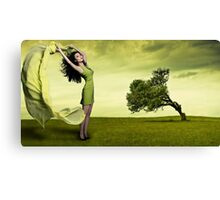 Bow To The Wind Canvas Print