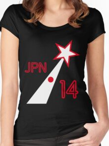 JAPAN STAR Women's Fitted Scoop T-Shirt