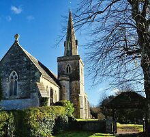 St Michael & All Angels Church ~ Little Bredy by Susie Peek