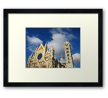 Siena Cathedral, Siena, Italy Framed Print