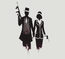 Bonnie and Clyde T-Shirt by CalmSubtlety