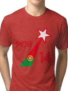PORTUGAL STAR  Tri-blend T-Shirt