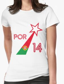 PORTUGAL STAR  Womens Fitted T-Shirt