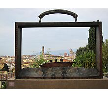 Florence, packed & ready to go Photographic Print