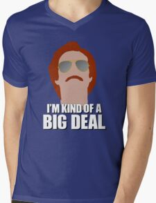 I'm Kind of a Big Deal - Ron Burgundy, Anchorman Mens V-Neck T-Shirt