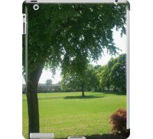 the field (portrait style) iPad Case/Skin