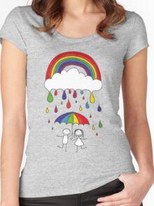 Rainbow Magic Women's Fitted Scoop T-Shirt