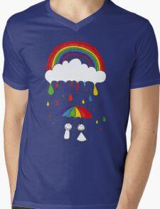 Rainbow Magic Mens V-Neck T-Shirt