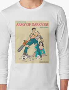 Army Of Darkness - Beige Long Sleeve T-Shirt