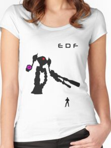 EDF Women's Fitted Scoop T-Shirt