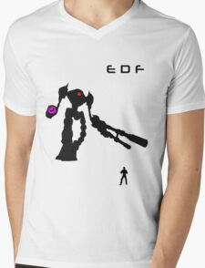 EDF Mens V-Neck T-Shirt