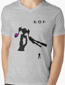 EDF Mens V-Neck T-Shirt