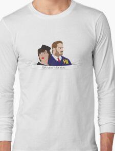 Burt and Janet Long Sleeve T-Shirt