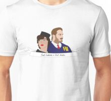 Burt and Janet Unisex T-Shirt