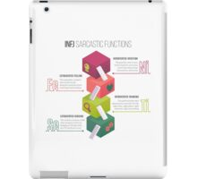 INFJ Sarcastic Functions iPad Case/Skin