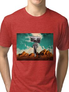 Take a picture, it lasts longer Tri-blend T-Shirt