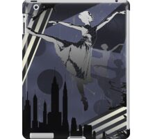 Ballerina City Sun Burst Purple iPad Case/Skin