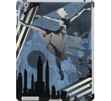 Ballerina City Sun Burst Blue iPad Case/Skin
