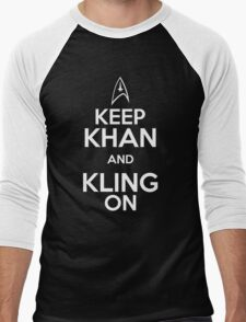 Keep Khan and Kling On Men's Baseball ¾ T-Shirt