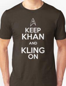 Keep Khan and Kling On Unisex T-Shirt