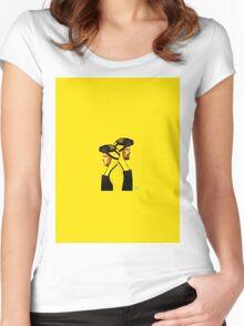Breaking Bad Jesse/Walter Women's Fitted Scoop T-Shirt