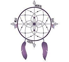 Dreamcatcher Compass Photographic Print