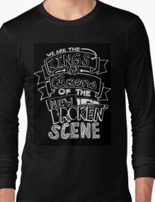 "5 Seconds Of Summer ""She's Kinda Hot"" Lyric Drawing Long Sleeve T-Shirt"