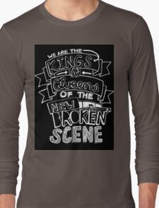 "5 Seconds Of Summer ""She's Kinda Hot"" Lyric Drawing Long Sleeve T-Shirt"
