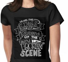 """5 Seconds Of Summer """"She's Kinda Hot"""" Lyric Drawing Womens Fitted T-Shirt"""