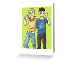 Hipstertrek Greeting Card