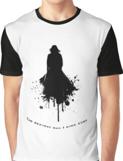 The Bravest \  Black-White concept Graphic T-Shirt