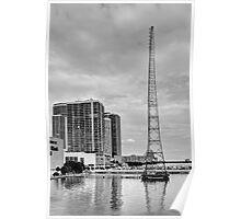 WQAM Radio Tower Poster