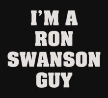 I'm A Ron Swanson Guy by Alsvisions