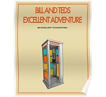 Bill And Ted's Excellent Adventure - Beige Poster