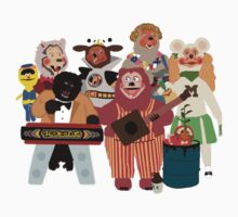 Rockafire- Showbiz Pizza Characters Kids Clothes