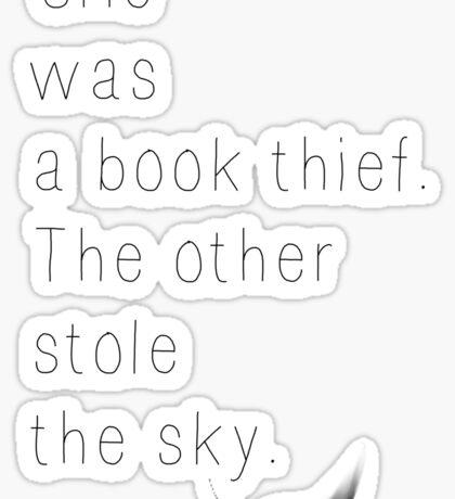 The Book Thief Quote Sticker