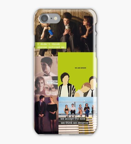 perks of being a wallflower iPhone Case/Skin