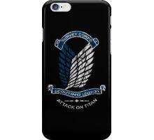 Emblem Grunge  iPhone Case/Skin