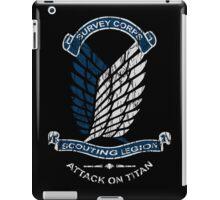 Emblem Grunge  iPad Case/Skin